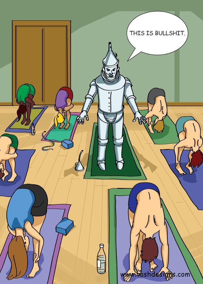 Tin Man Yoga